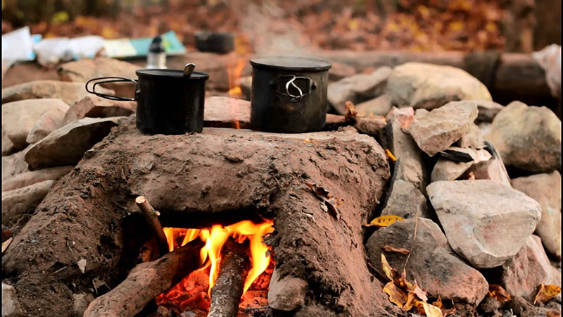 کمپ در طبیعت و پیک نیک